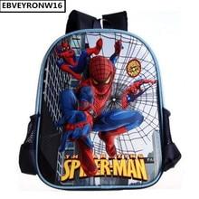 Enfants Sacs D'école 3D Spiderman de Bande Dessinée École Sac À Dos Pour Garçon Enfants Satchel Mochila Infantil AW85
