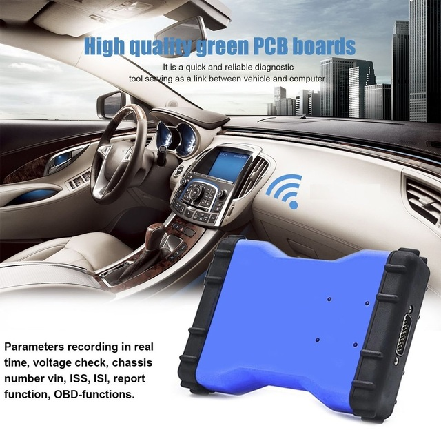 New Price 5pcs Car Diagnostic Tool Automobile Detector Bluetooth Version 2015.3 Software