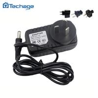 Techage 12V 1A Netzteil AC 100-240V Power Adapter wand ladegerät DC 5,5mm x 2,1mm EU/AU/UK/Us-stecker Für Sicherheit CCTV Kameras