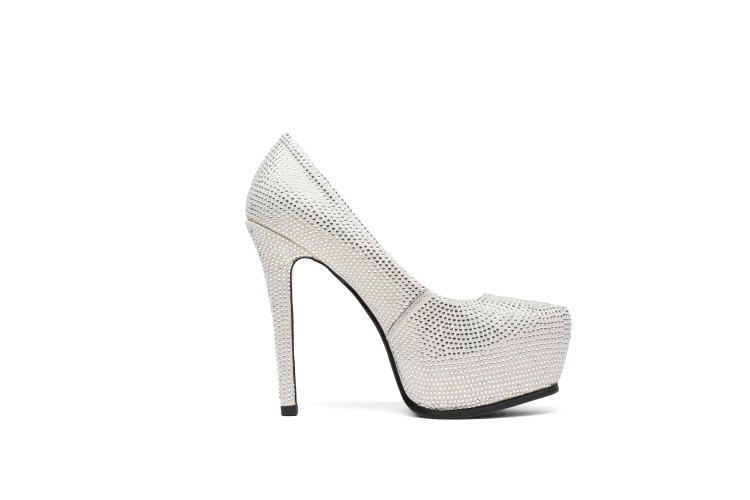 Strass Chaussures 2018 Mariage Cristal Mode Véritable Noir Femmes De blanc Cuir {zorssar} Nouveau En forme Talons Plate Pompes Haute zw0dzq