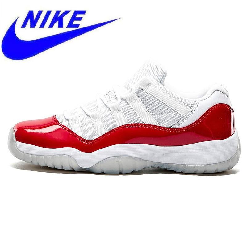 finest selection 6b092 abc48 Detalle Comentarios Preguntas sobre Resistente al desgaste de Nike Air  Jordan 11 bajo Marina AJ11 hombres zapatos de baloncesto blanco y rojo  absorción de ...
