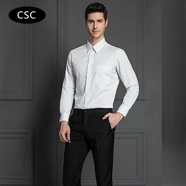 aliexpress  buy 2017 new men formal dress shirt solid