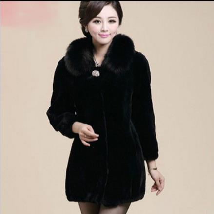 Taille Outwear De Furry Artificielle La Veste Plus Hiver Manteau Faux Fourrure Femmes Q914 Femme 2018 wOaAq7