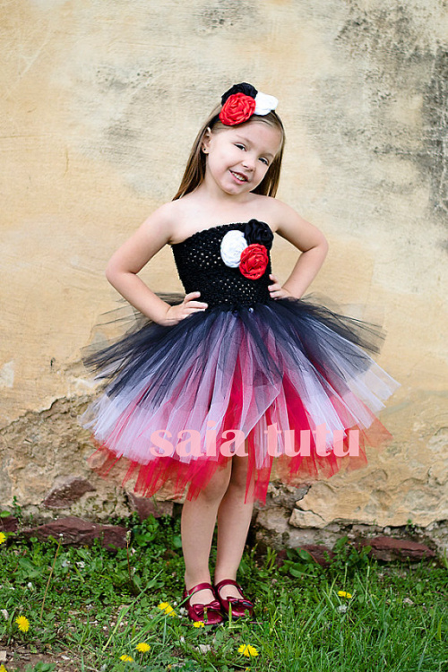 2017 New tutu tulle baby bridesmaid flower girl wedding dress fluffy ball gown USA birthday evening prom cloth cake party dress silver gray purple pink blue ball gown tutu soft tulle puffy flower girl dress baby 1 year birthday dress with spaghetti straps