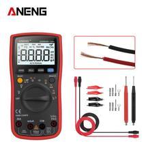 ANENG AN860B+ 6000 counts digital multimeter esr meter testers automotive electrical dmm transistor tester peak resistor