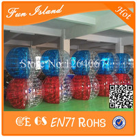 Бесплатная доставка 12 шт. + 2 насос пузырь Футбол/zorb/надувные Бурлящий шарик для продажи