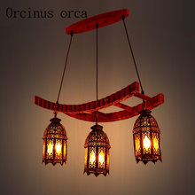 Buy moroccan chandeliers and get free shipping on aliexpress european mediterranean retro solid wood chandeliers restaurants study rooms bars morocco style minimalist chandelierchina aloadofball Image collections