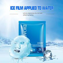 ZHENDUO 1pc skin care Ice Fountain Whitening Moisturizing Facial Mask Cool Hydrating Oil Control Brighten Face mask for face