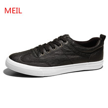 MEIL 2018 New Fashion Men's Vulcanize Shoes Sneakers men Slip On Lace Up Flat Breathable zapatos hombre Casual  Shoes Men new high quality men s vulcanize shoes breathable spring summer men casual canvas shoes slip on flat shallow men sneakers