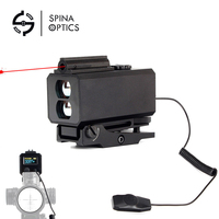 SPINA OPTICS Tactical 5 700M Mini Rangefinders Hunting Rifle Scope Sight with Range Mount Color OLED Display