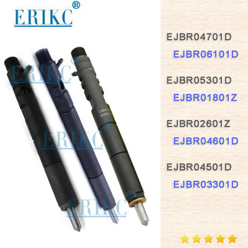 ERIKC Diesel Fuel CR Injector EJBR04701D EJBR06101D EJBR05301D EJBR01801Z EJBR04601Z EJBR02601Z 1100100-ED01 For Delphi