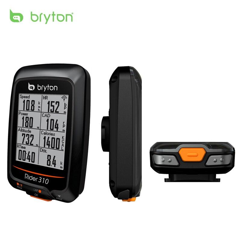 Bryton Rider 310 Activé Étanche GPS vélo de bicyclette de vélo sans fil compteur de vitesse vélo bord 200 500510 800810 montage