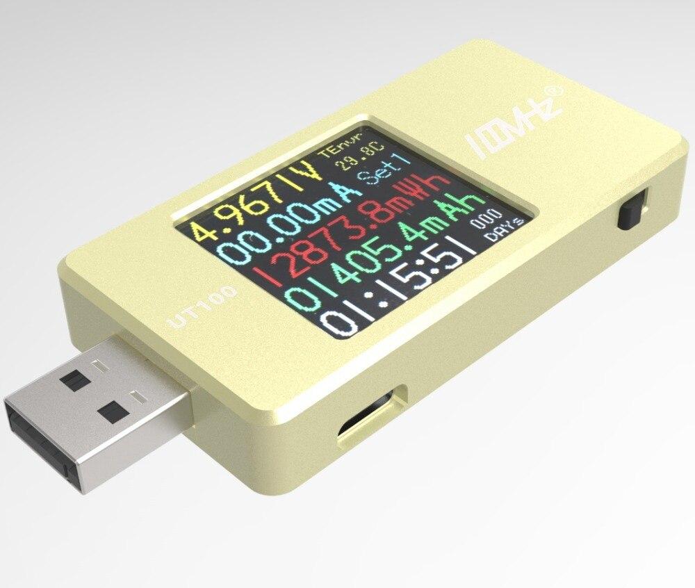 UT100 (KT001 KOTOMI PRE) USB Voltage And Current Capacitance- Meter QC, PD Deception, Pack Grabbing