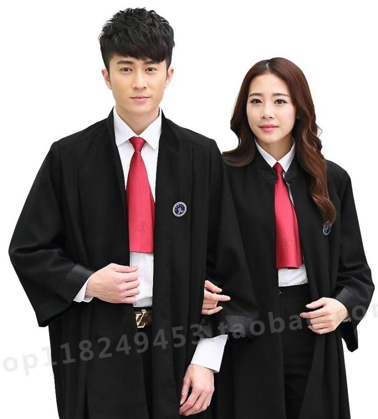 Lawyers robe law lawyers clothing new men and women standard version of the lawyers in court