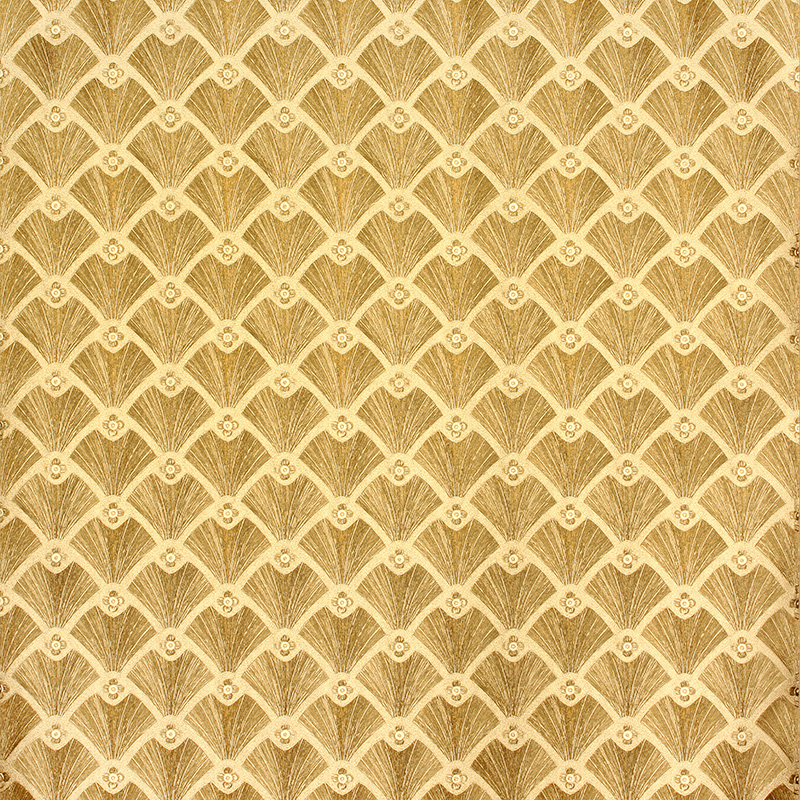 Modern Southeast Asian gold luxury wallpaper Living room
