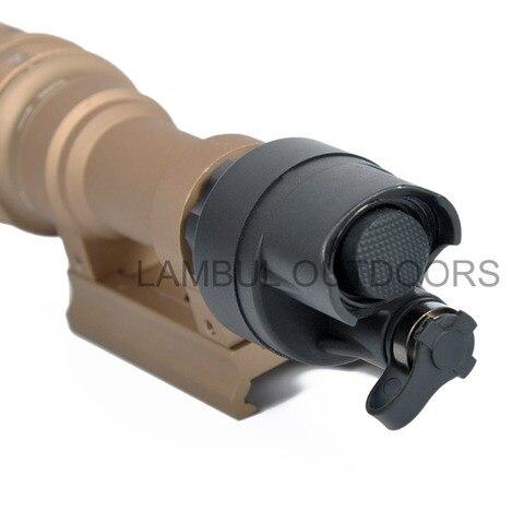 rifle lanterna montar luz 400 lumens arma para caca acessorios