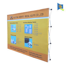 10ft Hig-quality Exhibition Booth Velcro Fabric Pop Up Display Banner Stand for Trade Show with Graphic(Free Shipping)