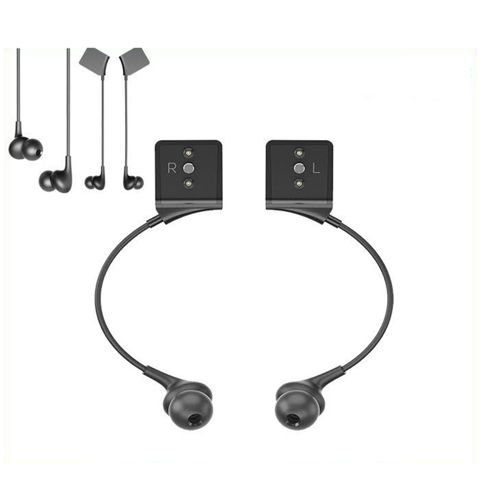 1pair Replacement VR Headset Earphones For Oculus Rift Accessories Noise Isolating On-Ear Earphone For Oculus Rift CV1 Headset
