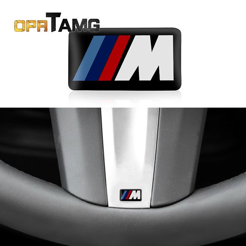 1PC M Mpower M-tech Emblem Badge Sticker Wheel Decal Accessories for BMW E46 E30 E34 E36 E60 E90 F10 F30 M3 M5 M6 X1 Car styling 1pc car sticker for bmw motorcycle car styling stall paste m logo interior gear head stickers fit for bmw m3 m5 m6 x1 x3 x5 x6