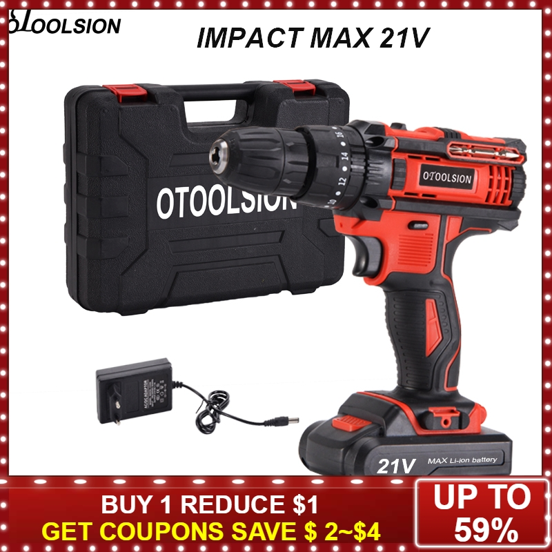 21V Impact Electric Drill Cordless Screwdriver Electric Screwdriver Rechargeable Cordless Drill Battery Screwdriver Wood Work21V Impact Electric Drill Cordless Screwdriver Electric Screwdriver Rechargeable Cordless Drill Battery Screwdriver Wood Work