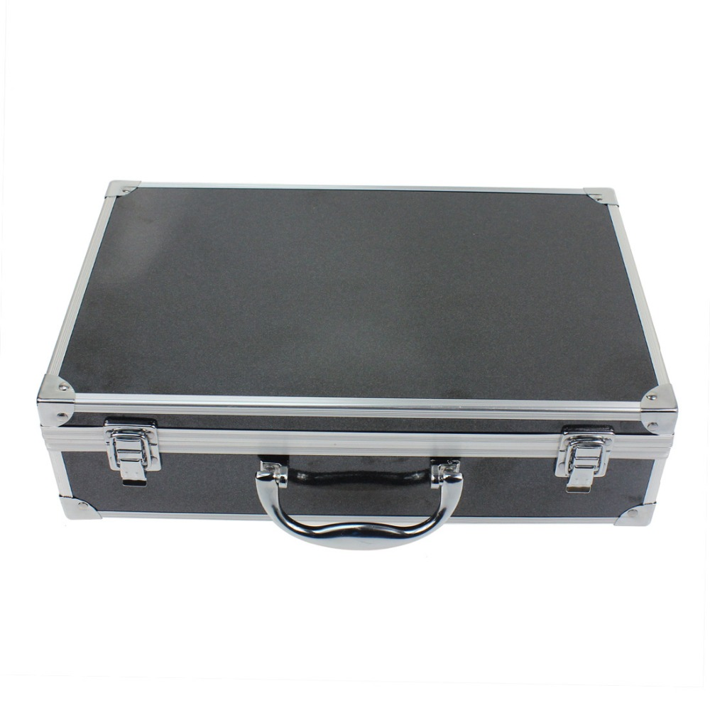 Aluminum Case Box for Hubsan 107C+ 107D+ RC Helicopter Quadcopter Drone travel aluminum blue dji mavic pro storage bag case box suitcase for drone battery remote controller accessories