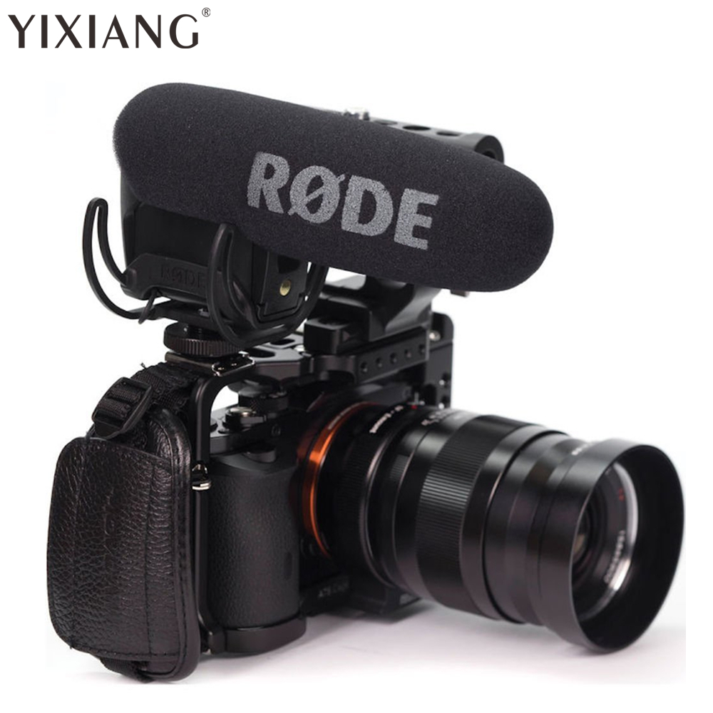 YIXIANG agent Rode VMPR VideoMic Pro R with Rycote Lyre Shockmount Microphone for Canon Nikon Lumix Sony DJI Osmo DSLR Camera цена 2017