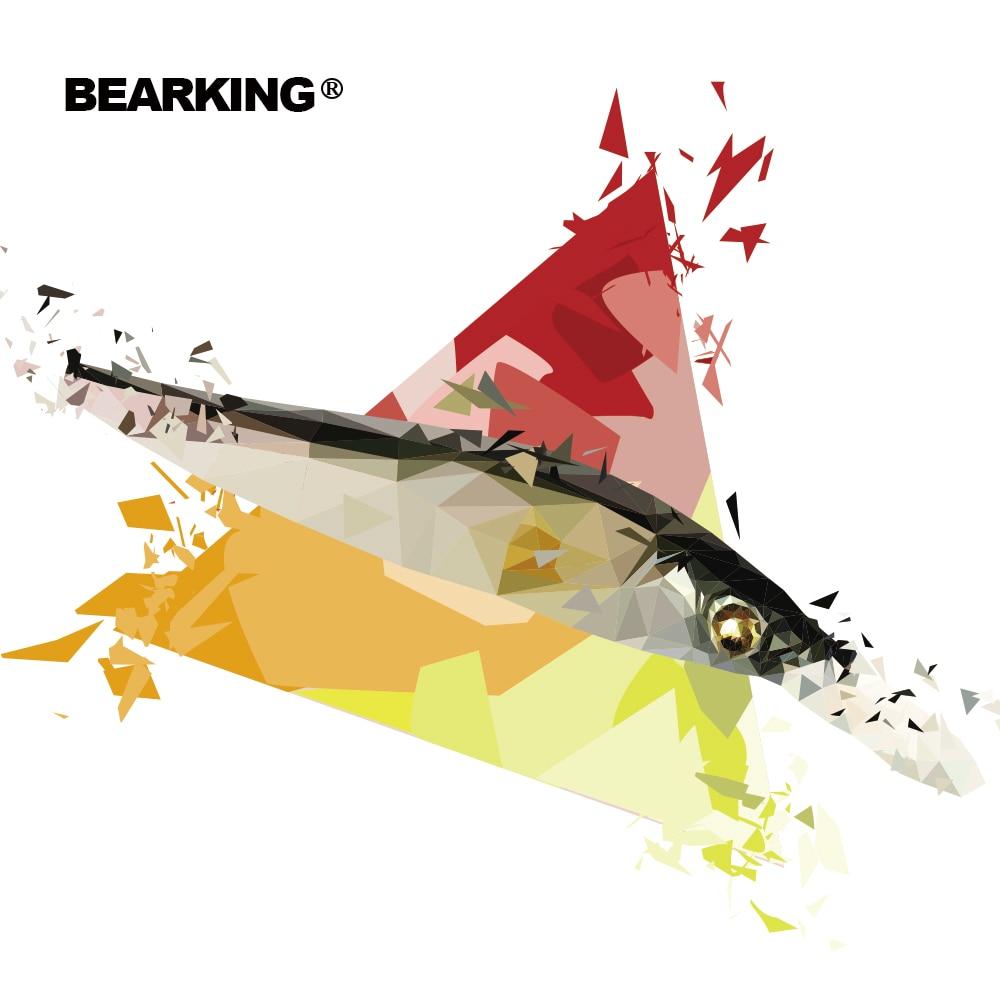 2017 BEARKING NEUE angeln lockt, verschiedene farben, elritze kurbel 11 cm 14g, wolfram gewicht system. Heißer modell kurbel köder 10 farben
