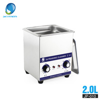 SKYMEN Mechanical Knob Ultrasonic Cleaner Bath 2L 60W 110/220V parts cleaner ultrasonic cleaner dental