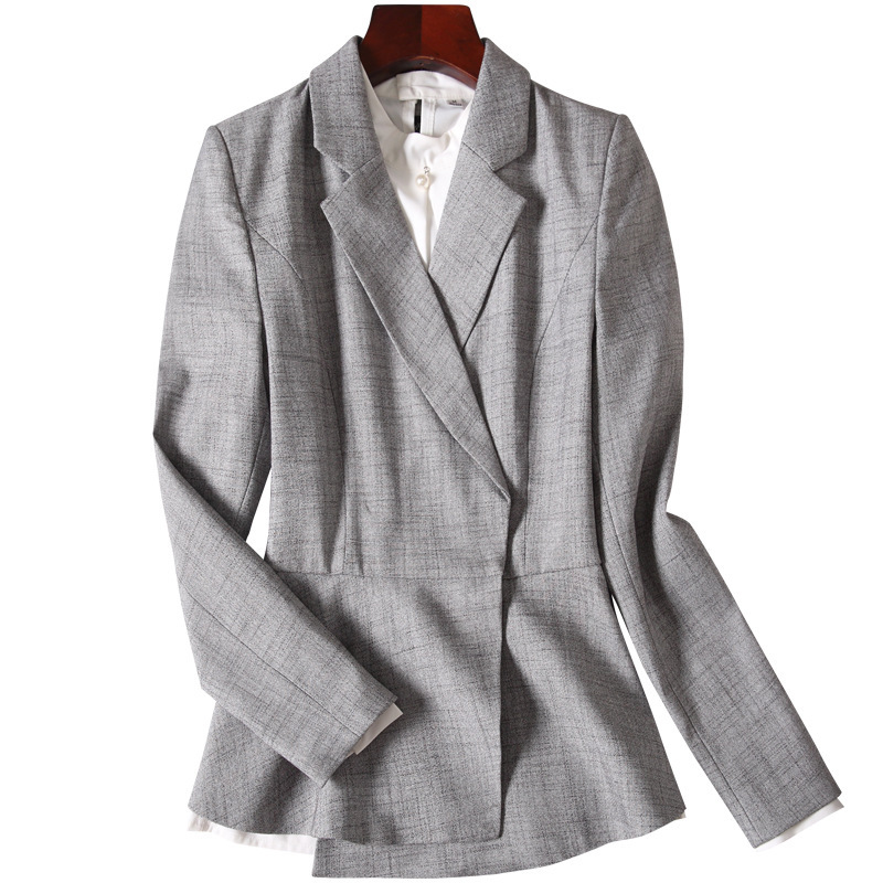Business Attire Women's Suit Ms. Fashion Dress Suit Overalls Han Edition Leisure Suit Tooling Autumn Wind Of England