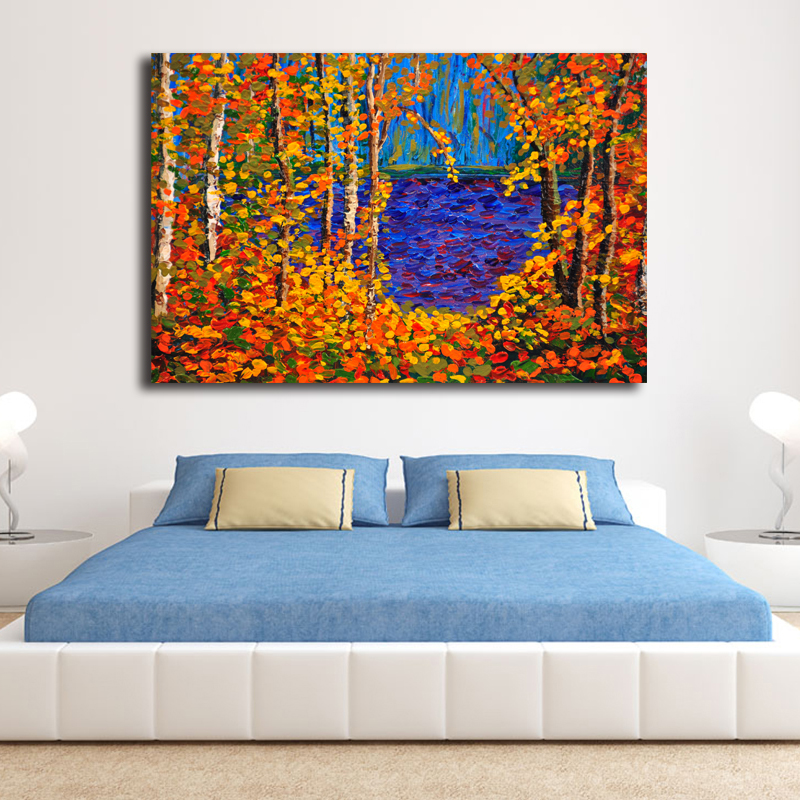 Klimtes Nordic Style Wall Art Canvas Painting Poster Abstract Print Decorative Picture for Living Room Home Decoration in Painting Calligraphy from Home Garden