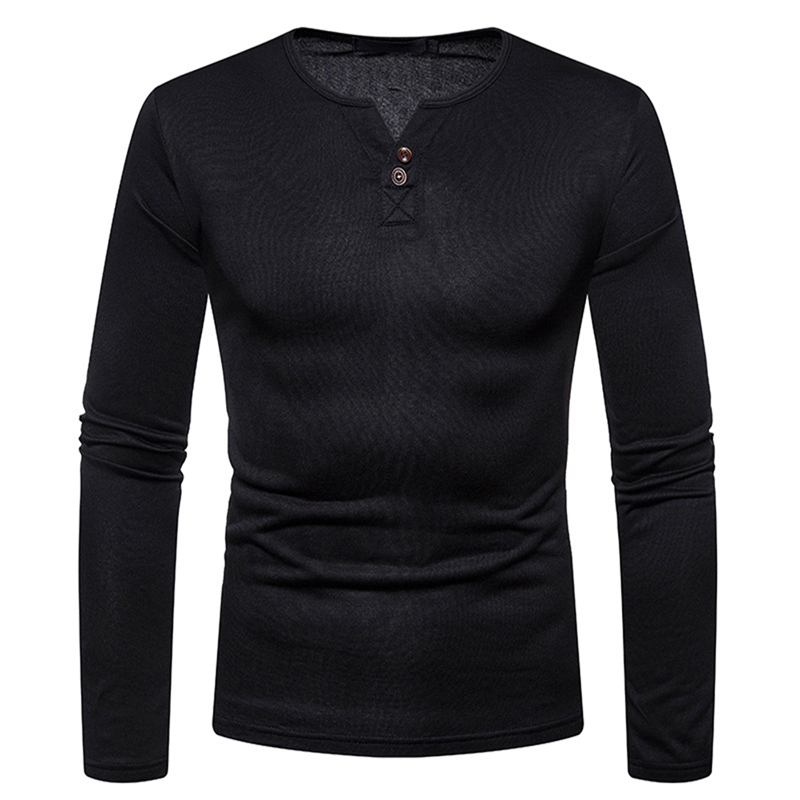 Hot Sale Mens Warm Thermal Bottoming Tshirt Autumn Winter Man Long Sleeve Casual Velvet Thick T-Shirt Male Top Tees streetwear
