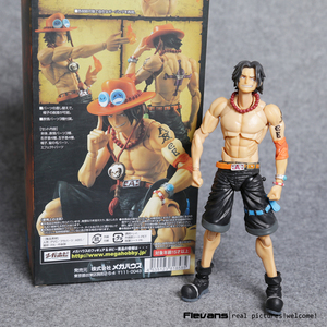 Image 5 - MegaHouse azione variabile Heroes One Piece Luffy Ace Zoro Sabo justice Nami Dracule Mihawk Action PVC Figure da collezione Model Toy