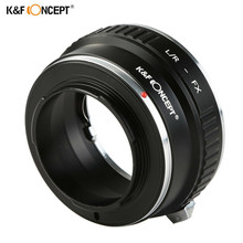 K&F CONCEPT L/R-FX Lens Mount Adapter Ring For Leica R Mount Lens to Fujifilm FX Mount Camera Adapter