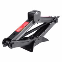 High Quality 2 Ton Manual Car Jack Heavy Duty Horizontal Scissor Lifter Car Durable Lifting Platform Tyre Wheel Replacemet Tool