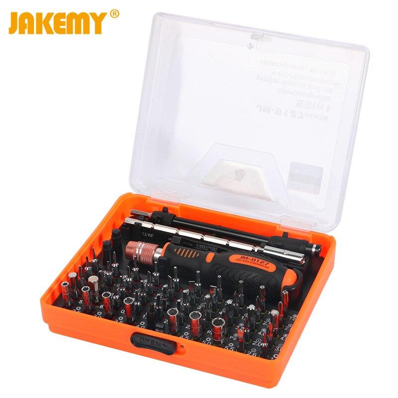 JAKEMY 53 In 1 Multipurpose Precision Screwdriver Set For Computer Tablet Mobile Phone Repair Tools Kit