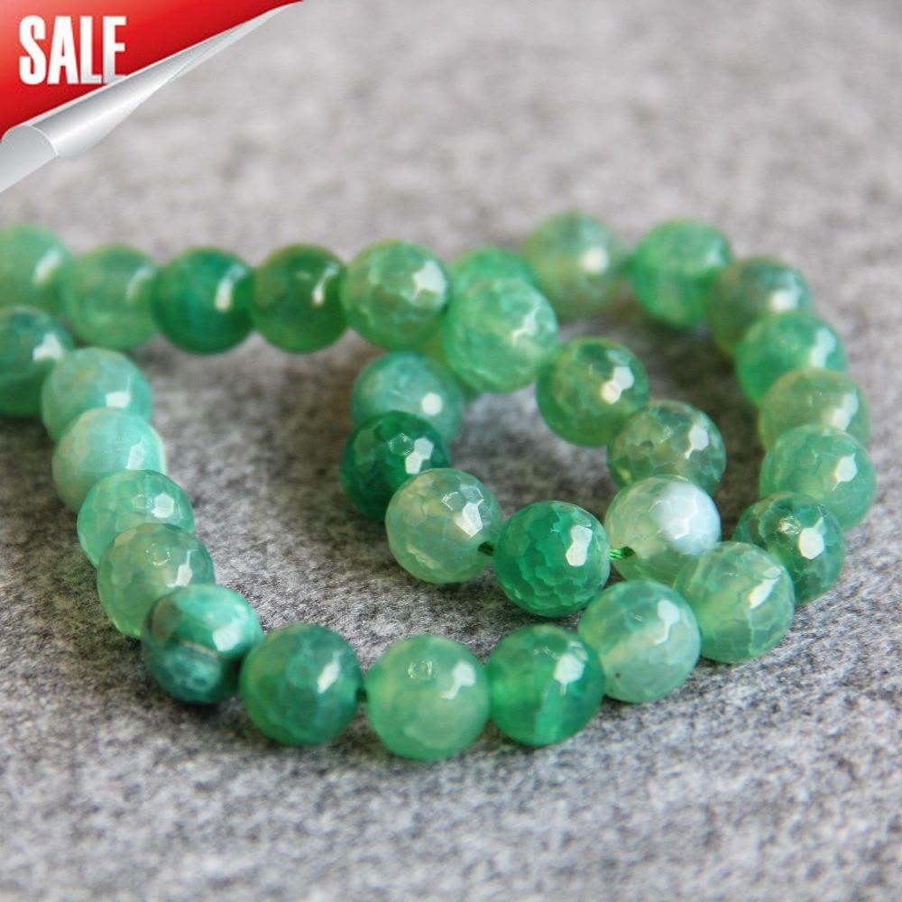 Оникс зеленый браслет