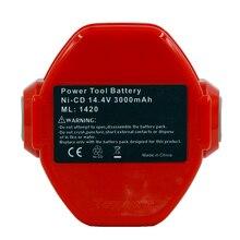 14.4V 3000mAh Ni-CD Power Tools Rechargeable Batteriesfor Makita PA14 193158-3 1420 1422 1433 1434 1435F 192699-A