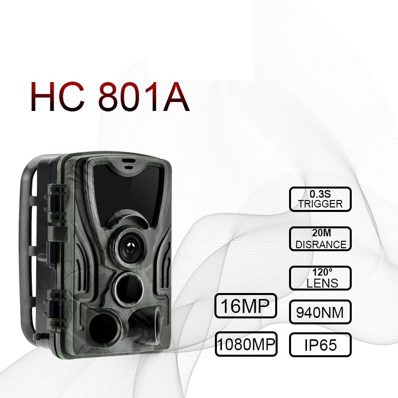 Nouvelle caméra de chasse GPS sans fil 4G LTE télécommande APP contrôle Camo chasse jeu piste caméra faune Photo piège Scouts HC-801A