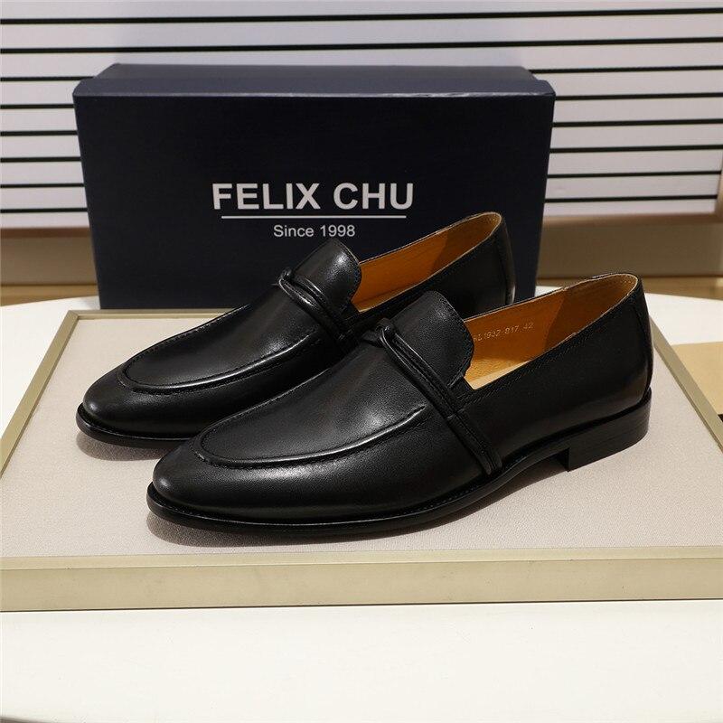 Zapatos de hombre de moda mocasines de cuero genuino Casual Slip On Hombre Zapatos de fiesta boda zapatos de hombre de alta calidad tamaño cómodo 39  46-in Mocasines from zapatos    1