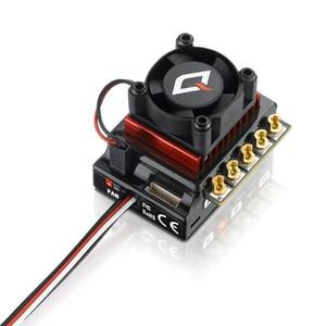Image 3 - Hobbywing quicrun 10bl120 controlador de velocidade, sensor de 120a/10bl60, sem escova, esc, para mini carro 1/10 1/12 rc