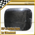 New FOR Mitsubishi Evolution EVO 7 8 9 Carbon Fiber Fuel Tank Cover Car Accessories Car Styling