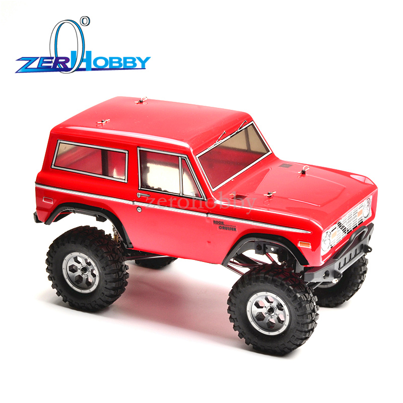 HSP RGT Racing 136100PRO 1/10 Scale Electric 4wd Off Road Rock Crawler Cruiser RC-4 Climbing Hobby Remote Control Car LED