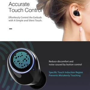 Image 2 - BlitzWolf FYE3S TWS אמיתי אלחוטי Bluetoot 5.0 אוזניות דיגיטלי תצוגת כוח חכם מגע דו צדדי שיחת אוזניות טעינת תיבה