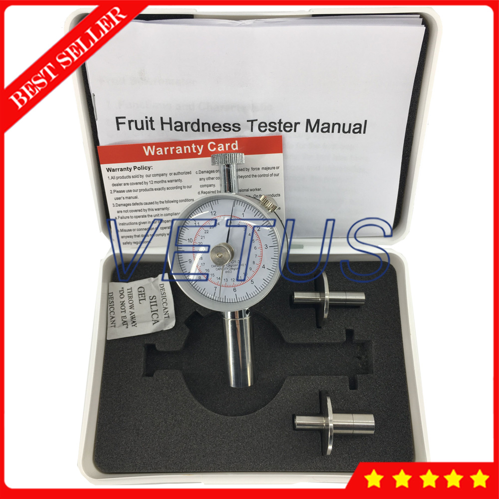все цены на GY-3 Analog 0.5 to 12kg/cm 2 Fruit Hardness Tester Sclerometer penetrometer онлайн