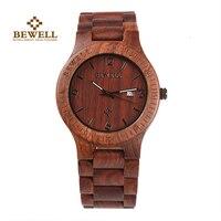 BEWELL Men S Watch Luxury Brand Independent Design Watch Fashion Wooden Watch Bracelet Bamboo Watch Men