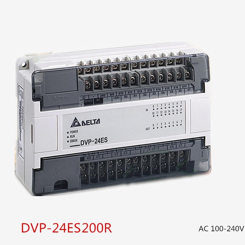все цены на  DVP24ES200R Delta PLC 100-240VAC 16DI 8DO relay output Standard Original Brand New  онлайн