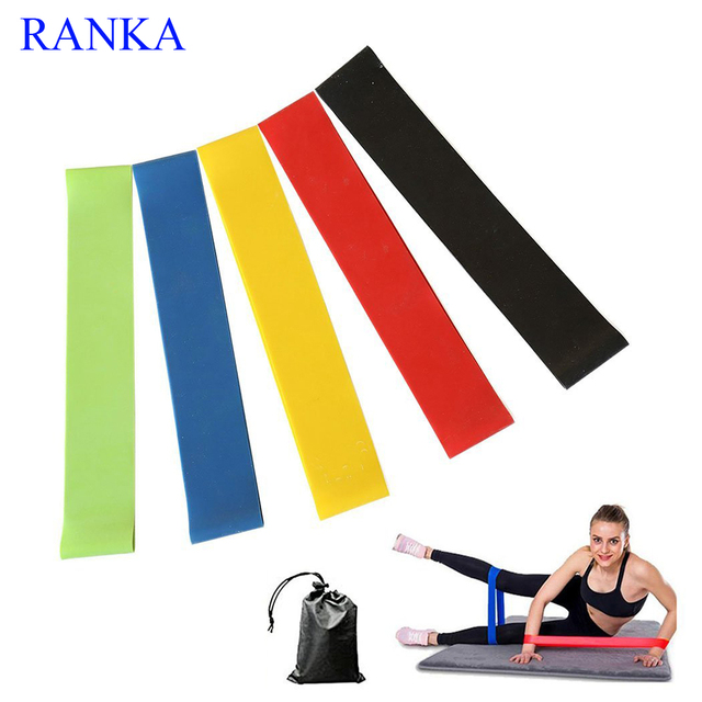 e6181a76adba 5PCS Set resistance bands set Latex workout Band Gym Strength Training pull  up resistance gum fitness exercis equipment mobility