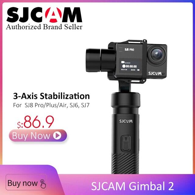2019 Update SJCAM Gimbal-2 3-Axis Stabilizer Bluetooth Control Type C for SJ6 SJ7 SJ8 Pro/Plus/Air Action Camera