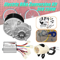 36V 250W Electric Bike Conversion Motor Controller Kit For 22 28 Common Bicycle