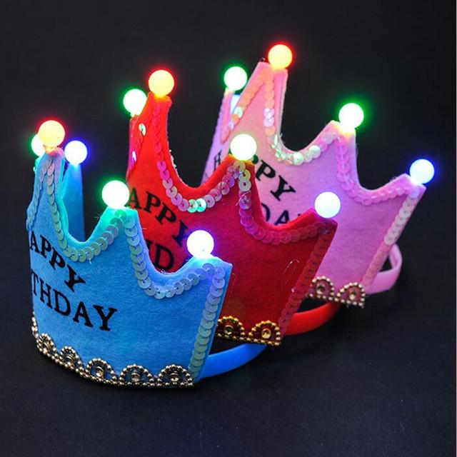 LED Party Hats 10 pcs/set